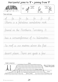 pleasant nsw cursive handwriting worksheets free about australian