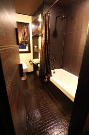54 best basement bath wood leather brown colored walls images on