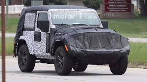 wrangler jeep 2 door 2018 jeep wrangler two door caught on road testing