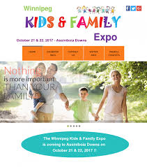 winnipeg kids u0026 family expo u201cmajor sponsor u201d u2026 the world of