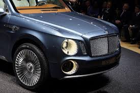 First Ever Bentley Suv Rolls Into The 2012 Geneva Motor Show