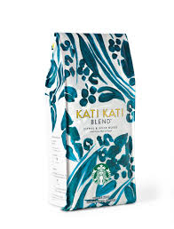 starbucks kati kati blend packaging pinterest packaging