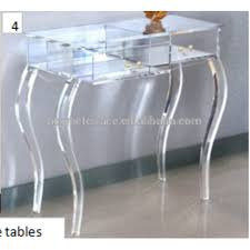 Lucite Console Table Acrylic Furniture Lucite Console Table Acrylic Furniture Lucite