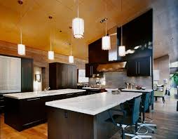 kitchen beautiful kitchen glass pendant lights over wooden