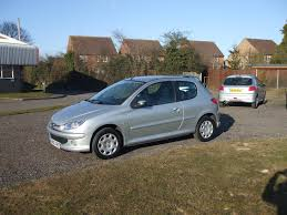 peugeot silver peugeot 206 1 1 zest3 05 reg sold ymark vehicle services
