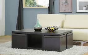 rectangle coffee table with stools design of coffee table with stools underneath coffee table coffee