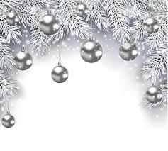 silver christmas silver christmas decor background vector graphic vector