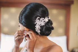 bridal hair bun wedding hair 10 pretty updos for the big day inside weddings