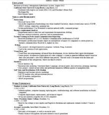 Example Of Resume Skills by Examples Of Resumes 89 Enchanting Professional Resume Formats