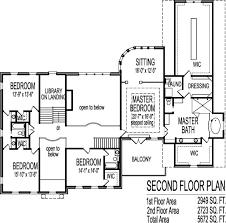 Large House Blueprints Million Dollar House Floor Plans 2 Story 5 Bedroom Design Blueprints