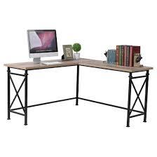 Corner Desk Metal Reclaimed Wood Corner Desk Etsy Voicesofimani