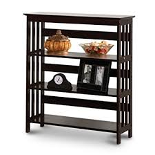 Mission Bookshelves by Amazon Com Man Cave Mission Style Contemporary Cherry Book Shelf