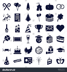 celebration emoji celebration icons set set 36 celebration stock vector 638236039