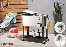 patio beverage cooler cart cooler with wheels outdoor patio beverage large wheeled 4
