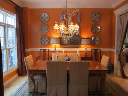 orange dining rooms modern house modern dining room in orange