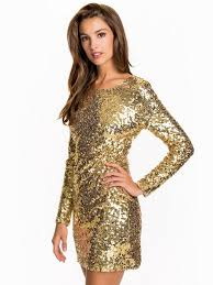 gold party dress scoop back sequin dress nly one gold party dresses