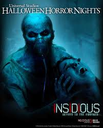 michael myers halloween horror nights insidious u0027 returns to uni u0027s halloween horror nights bloody