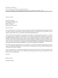 Teaching Job Cover Letter Examples   cover letter for employment happytom co
