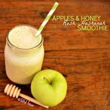 rosh hashonna apples honey rosh hashanah smoothie