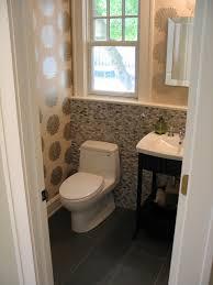 half bathroom tile ideas half bathroom ideas