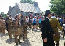 americans attending pilgrim wedding picture of plimoth