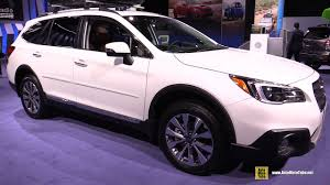 2017 subaru outback 3 6r touring exterior and interior