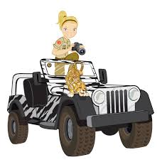 Safari Truck And Ranger Preschool Africa Theme Craft Pinterest