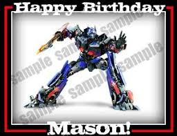 optimus prime cake topper 21 best beebop party shop images on party shop