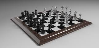 glass chess set 3d model 3dsmax by metonymic on deviantart