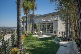 house in the los angeles hills inspired by california modernists