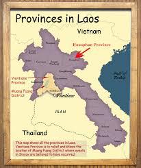 Map Of Laos National Day In Laos And Sinxay Sinxay