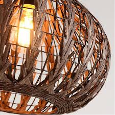 Wicker Light Fixture by Siminda Tropical Bamboo Chandelier Diy Wicker Rattan Lamp Shades