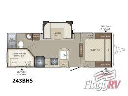bullet rv floor plans new 2016 keystone rv bullet 243bhs travel trailer at flagg rv w