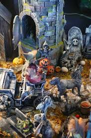 16 best halloween images on pinterest model train layouts