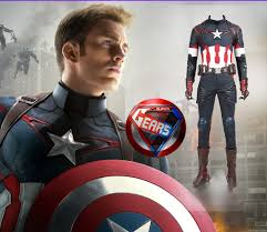 the captain america the avengers age of ultron cosplay costume