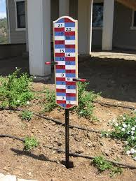 backyard scoreboard for bocce ball hillbilly golf and