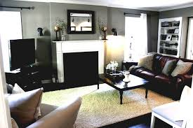 living room ideas brown paint color with furniture small theme