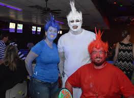 Bowling Halloween Costumes Scenes Fourth Annual Cosmic Costume Bowling Tournament