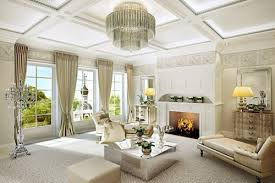 viewpoint dining room luxurious modern living curtain design 51