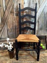 Antique Oak Ladder Back Chairs This Set Of 4 Shabby Chic Ladder Back Chairs Are Featured In A