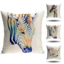 Wholesale Home Decorations Online Buy Wholesale Zebra Print Cushions From China Zebra Print