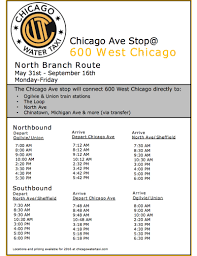 Map To Chicago by Launching Today New Water Taxi Service To Chicago Avenue Curbed