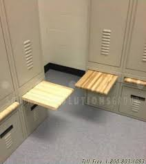 Bench Seat With Storage Lockers With Built In Drawer U0026 Bench Seat Personal Self Storage