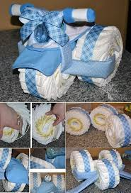 Tricycle Diaper Cake Diy Do It Yourself Pinterest