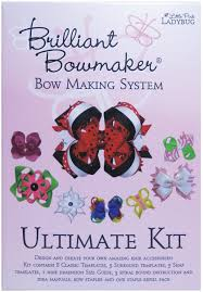 little pink ladybug brilliant bow maker ultimate kit multi colour