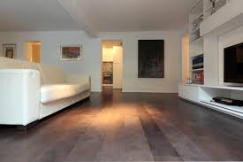 engineered parquet flooring glued oak varnished bronze