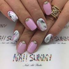 10 elegant nail art designs for prom 2017 8 pink marble nails
