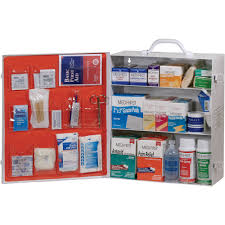Cabinet Tools Medique 3 Shelf First Aid Cabinet Model 745m1 First Aid Kits