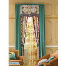 country curtains beautiful light green floral jacquard no valance