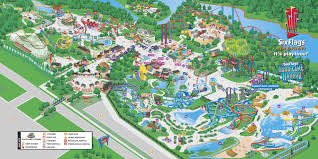 New England Map by Map Of Six Flags New England